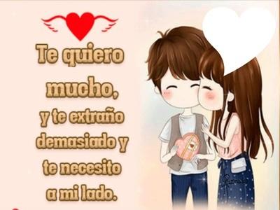 te amo mucho mi amor