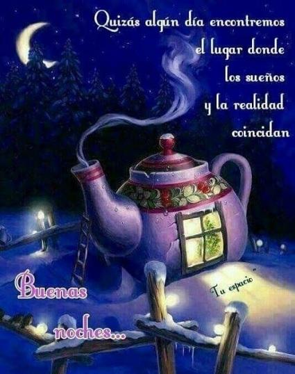 Que tengas hermosos sueños amiga