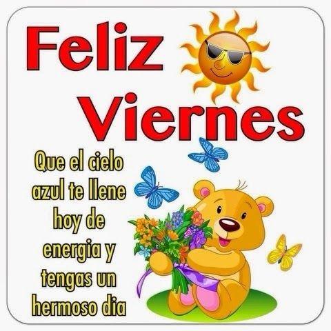 Imágenes de buenos días feliz viernes fin de semana