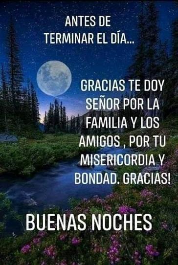 Buenas noche familia