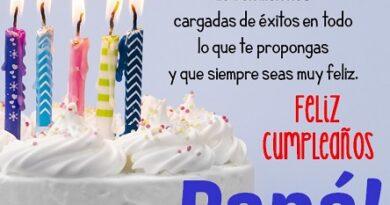 Frases de feliz cumpleaños de un papá