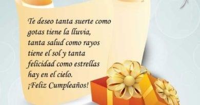 Mensajes de cumpleaños para una madrina