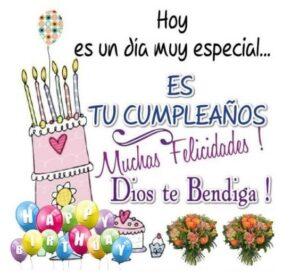 Cumpleaños de una amiga querida