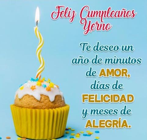 Que La Pases Bonito Yerno Feliz Cumpleaños
